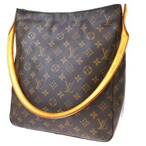 Authentic LOUIS VUITTON Looping GM Shoulder Bag Mo
